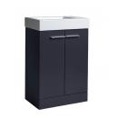 Tavistock Kobe 560mm Freestanding Vanity Unit & Basin Storm Grey