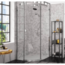 Merlyn 10 Series 1 Door Quadrant Shower Enclosure Left Hand with Tray 900 x 900mm