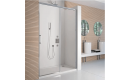 Merlyn 8 Series Frameless Sliding Shower Door with Tray 1400mm
