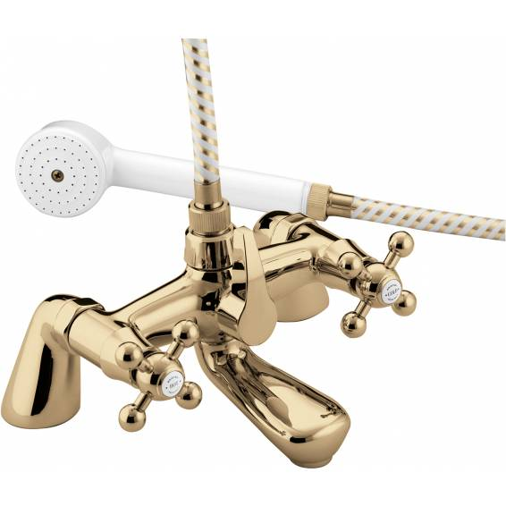 Bristan Regency Bath Shower Mixer Gold