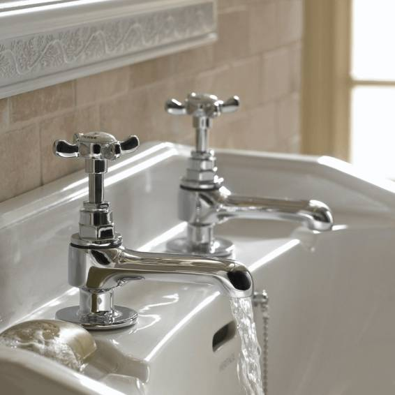 Bristan 1901 Basin Taps Chrome