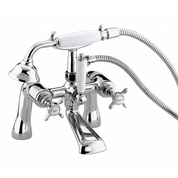 Bristan 1901 Bath Shower Mixer Tap Chrome