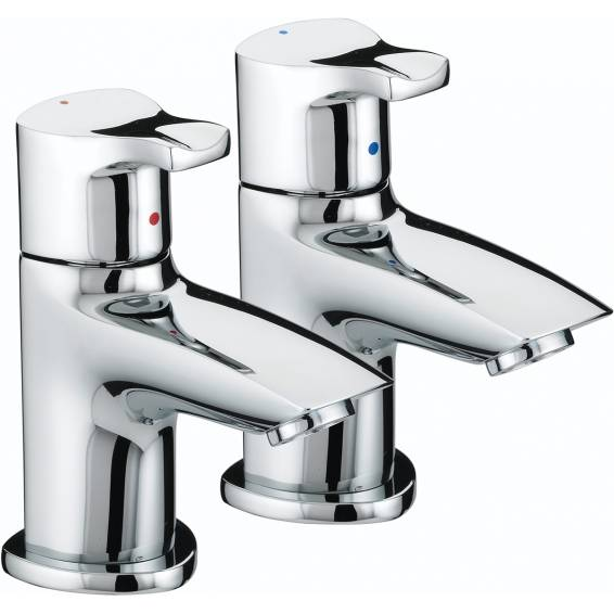 Bristan Capri Basin Taps Chrome
