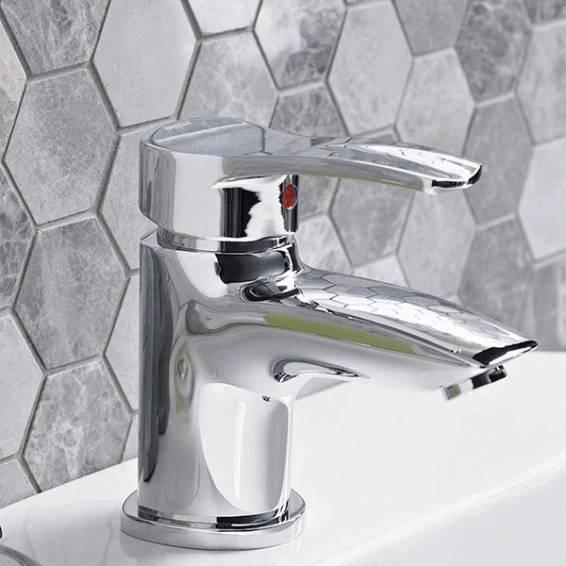 Bristan Capri Basin Mixer Chrome