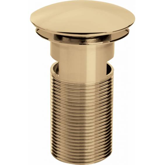 Bristan Clicker Basin Waste Slotted Gold