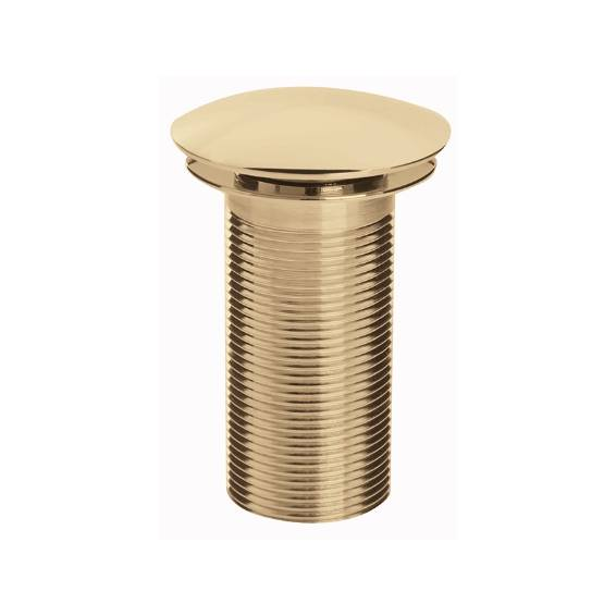 Bristan Clicker Basin Waste Unslotted Gold
