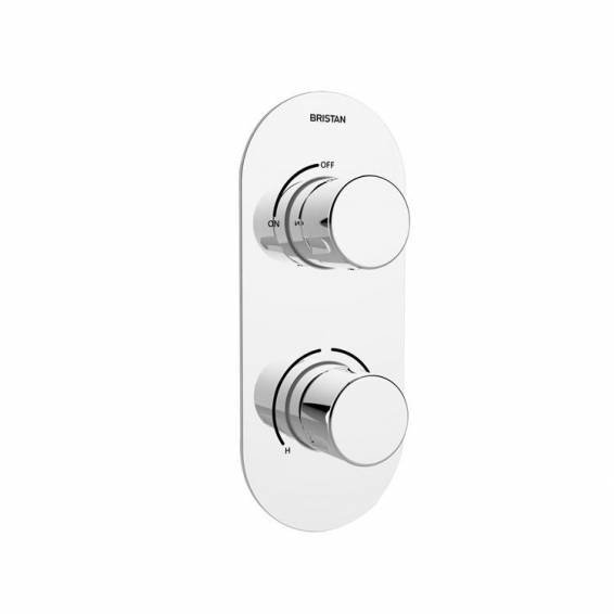 Bristan Exodus Thermostatic Recessed Single Outlet Shower Valve