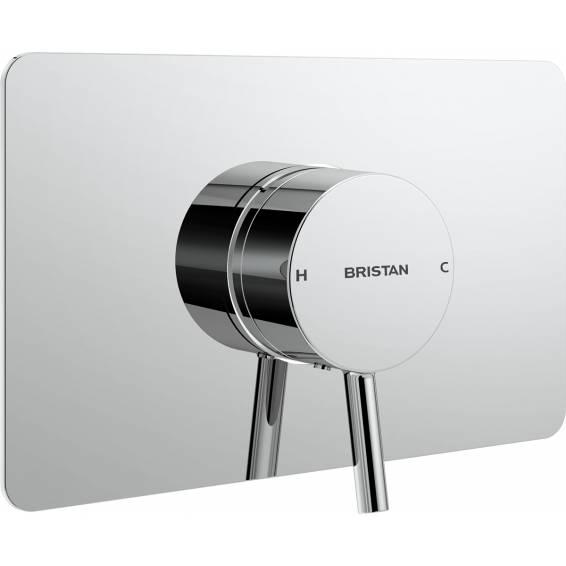 Bristan Prism Thermostatic Recessed Single Outlet Shower Valve
