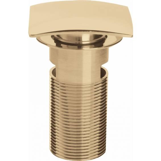 Bristan Square Clicker Basin Waste Slotted Gold