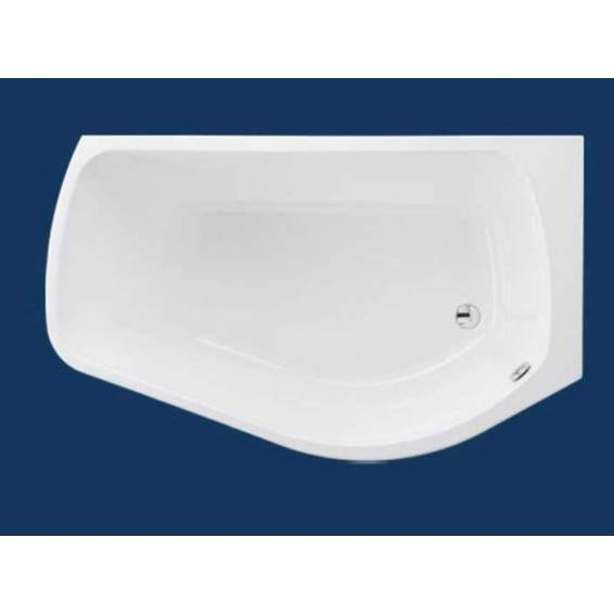 Carron Profile Shower Bath 1500 x 900mm Right Hand