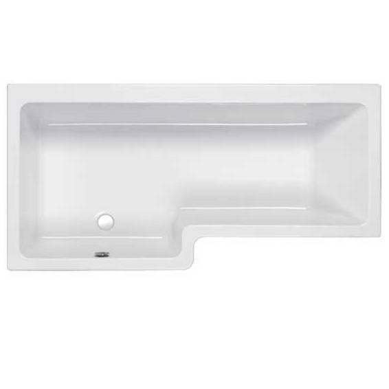 Carron Quantum Square Shower Bath 1500 x 700/850mm Left Hand