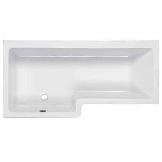 Carron Quantum Square Shower Bath 1600 x 700/850mm Left Hand