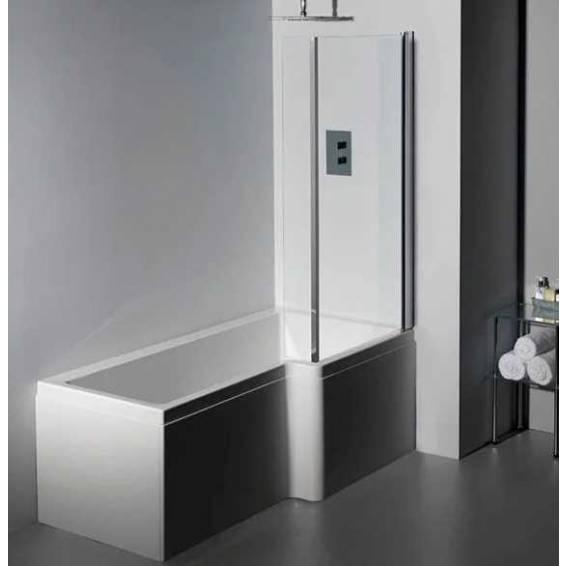 Carron Quantum Square Shower Bath 1600 x 700/850mm Right Hand