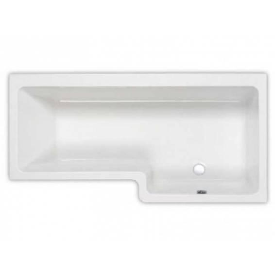 Carron Quantum Square Shower Bath 1700 x 700/850mm Right Hand