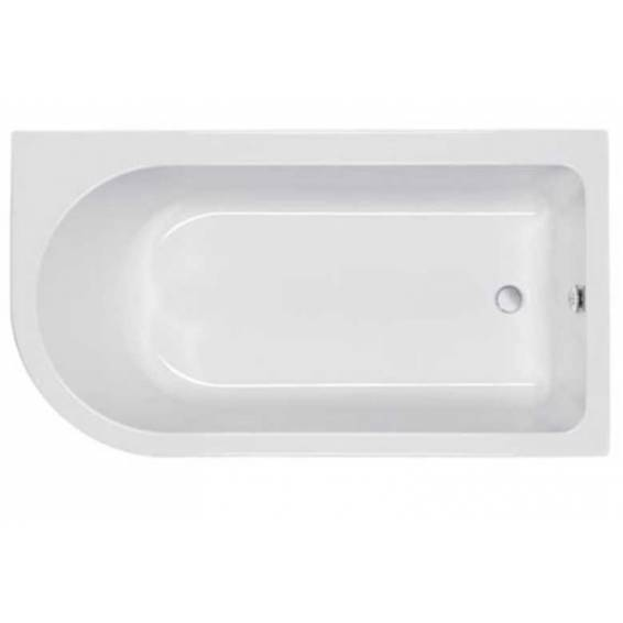Carron Status Shower Bath 1550 x 850mm Left Hand