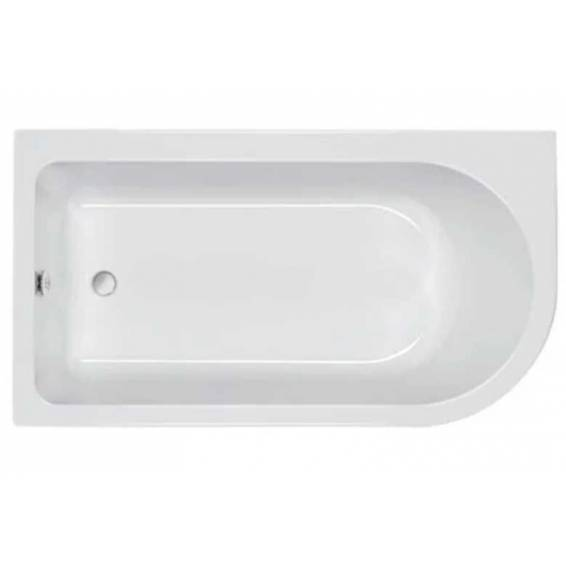 Carron Status Shower Bath 1550 x 850mm Right Hand
