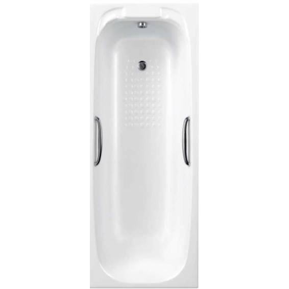 Carron Swallow 8mm Twin Grip Single Ended Bath 1700 x 700mm