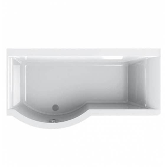 Carron Urban Shower Bath 1700 x 750/900mm Left Hand