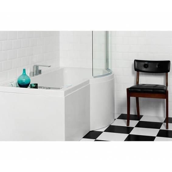 Carron Urban Shower Bath 1700 x 750/900mm Right Hand