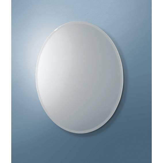 HIB Alfera Oval Mirror 540 x 420mm