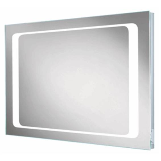 HIB Axis Steam Free LED Mirror with Charging Socket 600 x 800mm