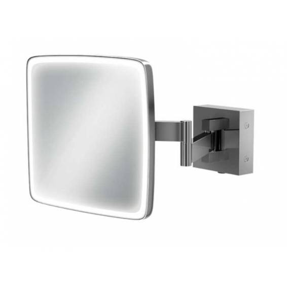 HIB Eclipse Square LED Magnifying Mirror