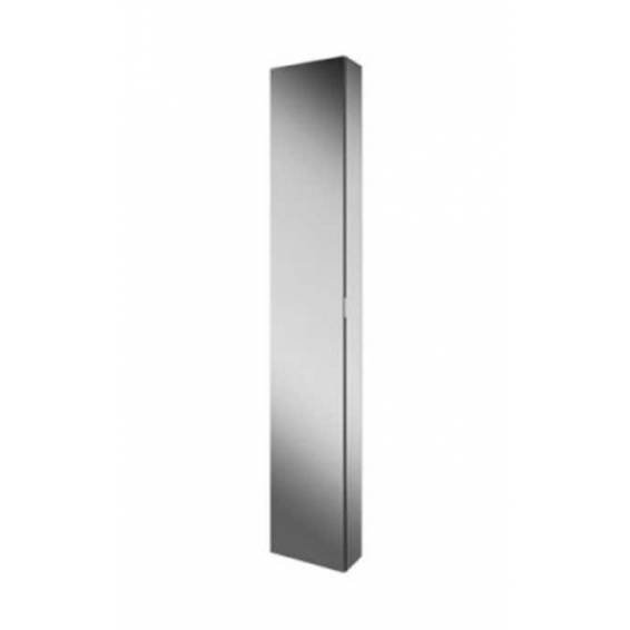 HIB Eris 30 Aluminium Bathroom Cabinet with Mirror Sides 300 x 1700mm