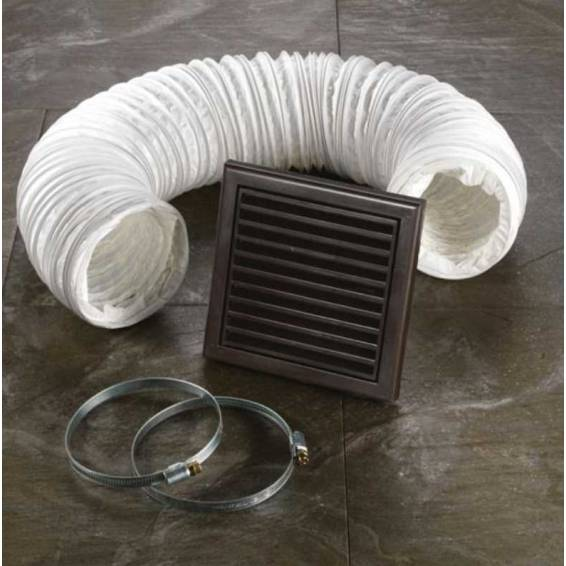 HIB Extractor Fan Accessory Kit Brown