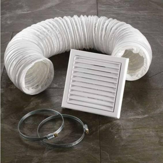 HIB Extractor Fan Accessory Kit White