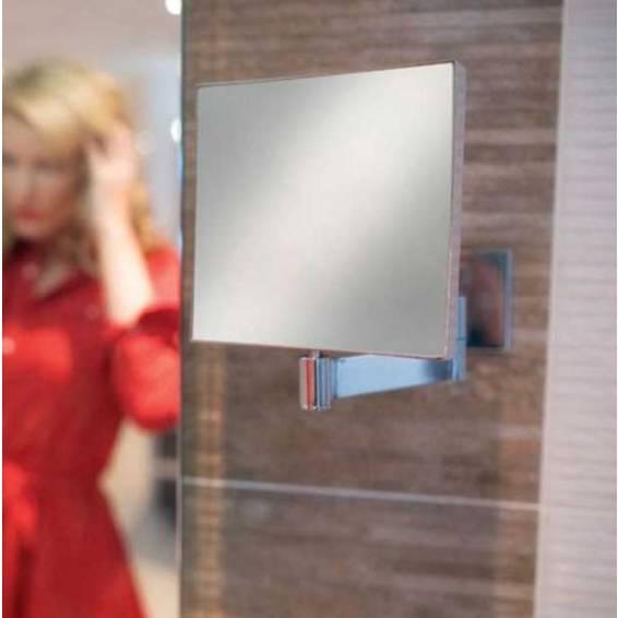 HIB Helix Square Magnifying Mirror