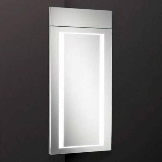 HIB Minnesota LED White Gloss Bathroom Cabinet 300 x 630mm