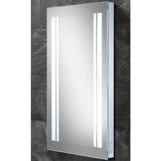 HIB Nexus Steam Free LED Mirror with Charging Socket 800 x 450mm