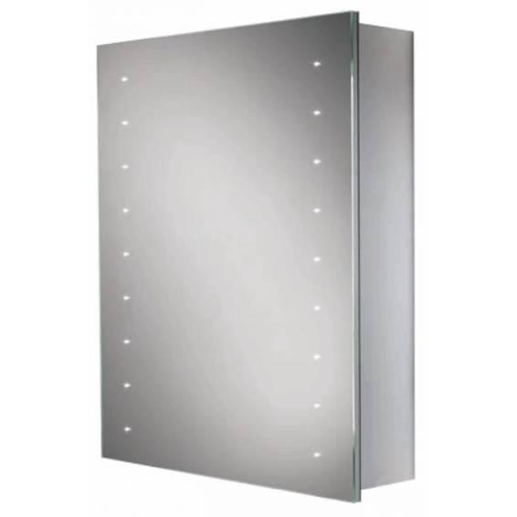 HIB Nimbus 50 LED Demisting Aluminium Bathroom Cabinet 500 x 700mm