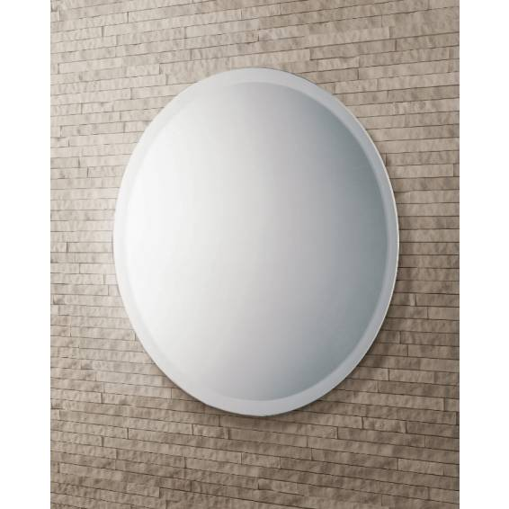 HIB Rondo Circular Mirror with Bevelled Edge