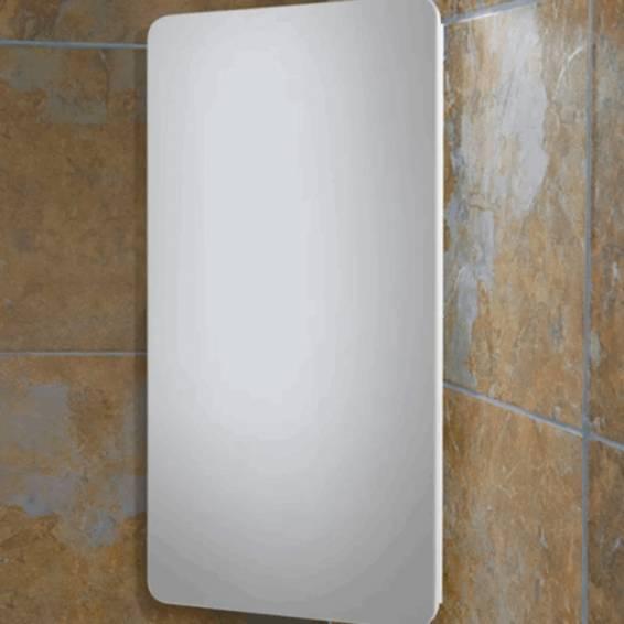 HIB Turin White Gloss Bathroom Cabinet 300 x 600mm