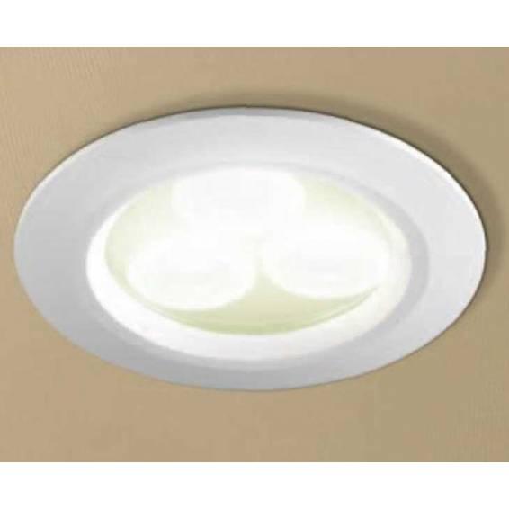 HIB White Showerlight with Warm White LED