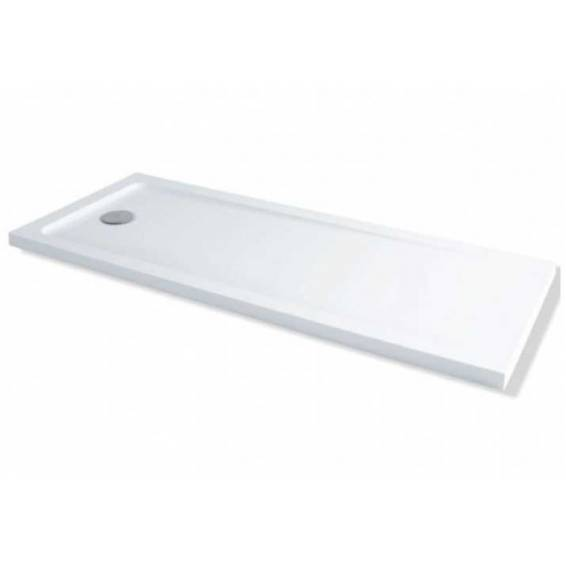 MX Elements Rectangular Shower Tray with Waste Bath Replacement 1700 x 700mm