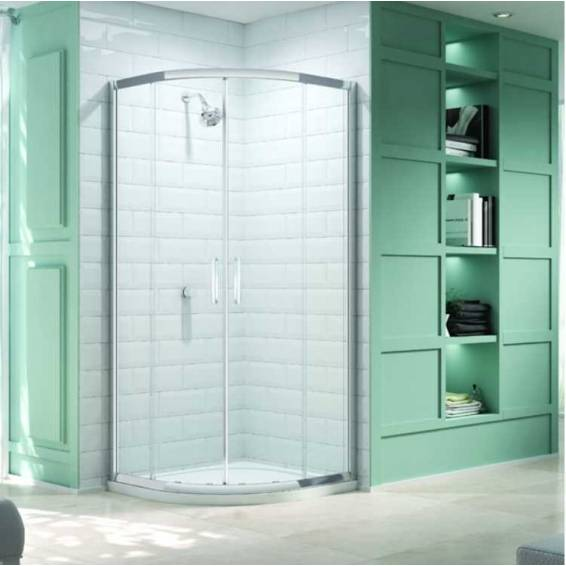 Merlyn 8 Series 2 Door Quadrant Shower Enclosure with Tray 800 x 800mm