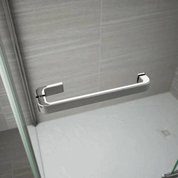 Merlyn 8 Series Frameless Hinge Inline Shower Door 900+ Wide