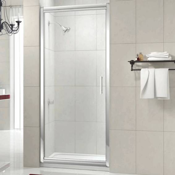 Merlyn 8 Series Infold Shower Door with Tray 760mm