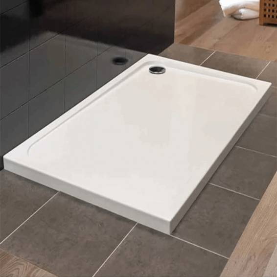 Merlyn MStone Rectangular Shower Tray with Waste 1600 x 800mm