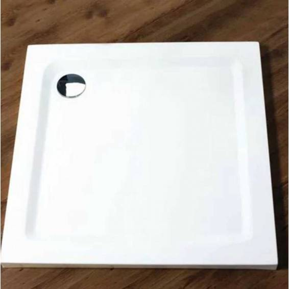 Merlyn MStone Square Shower Tray with Waste 900 x 900mm