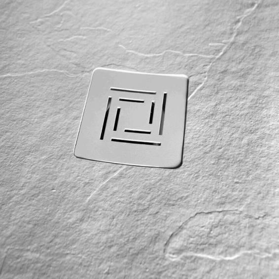 Merlyn Truestone Offset Quadrant Shower Tray 1200 x 900mm Left Hand White