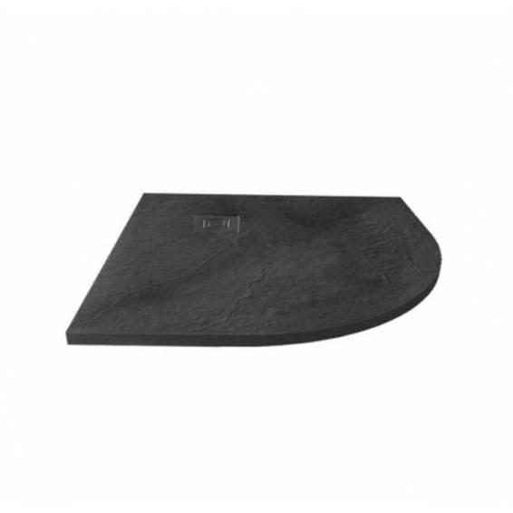 Merlyn Truestone Quadrant Shower Tray 900 x 900mm Slate Black