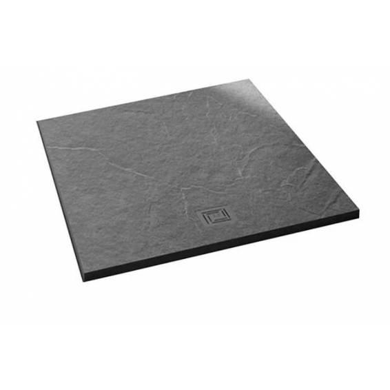 Merlyn Truestone Square Shower Tray 900 x 900mm Fossil Grey