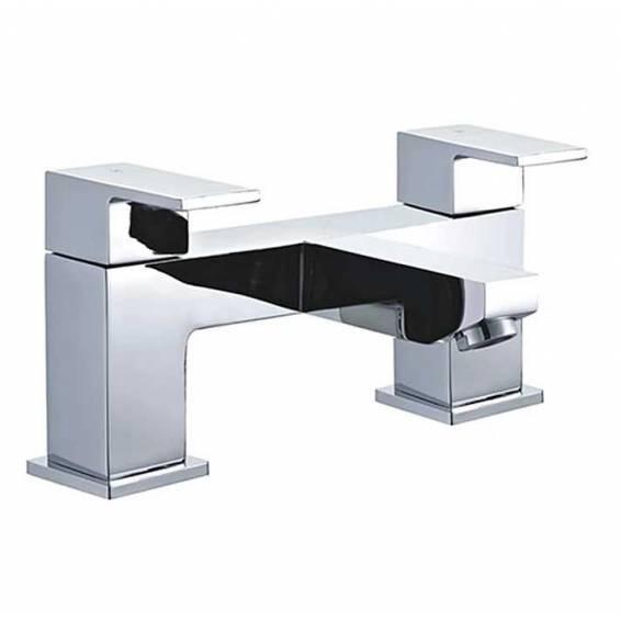 Niagara Edgeware Bath Filler Chrome