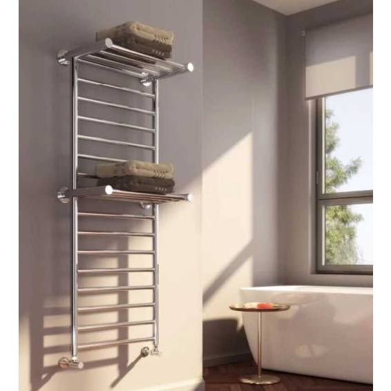 Reina Adena Stainless Steel Heated Towel Rail 1300 x 532mm
