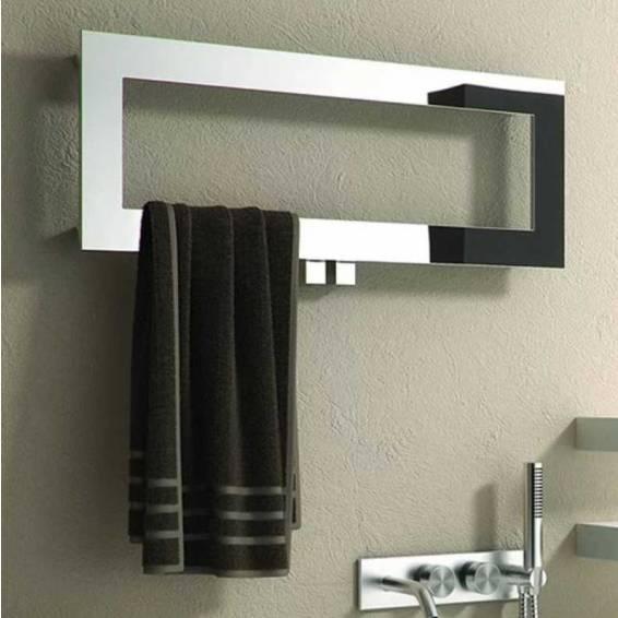 Reina Bivano Stainless Steel Heated Towel Rail 300 x 800mm