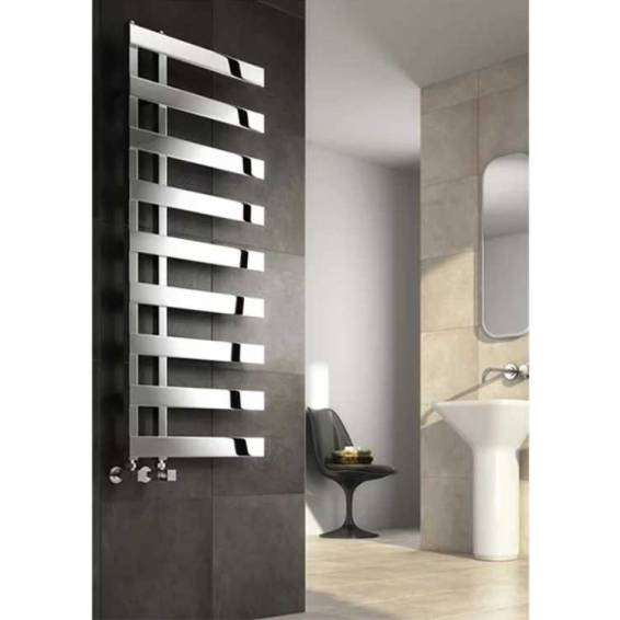 Reina Capelli Stainless Steel Heated Towel Rail 1525 x 500mm
