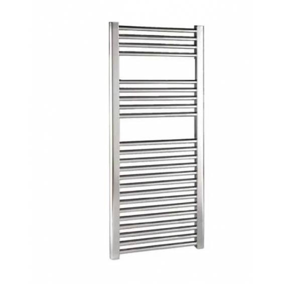 Reina Diva Thermostatic Electric Flat Heated Towel Rail 1200 x 600mm Chrome